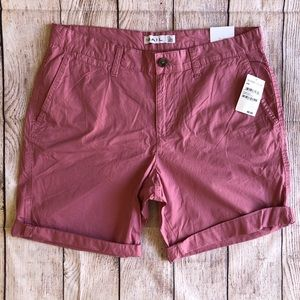 The Rail Shorts 33 New With Tags Pink fox glove